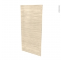 Façades de cuisine - Porte N°27 - STILO Noyer Blanchi - L60 x H125 cm