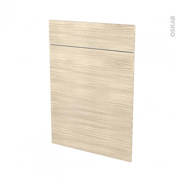 Façades de cuisine - 1 porte 1 tiroir N°54 - STILO Noyer Blanchi - L50 x H70 cm