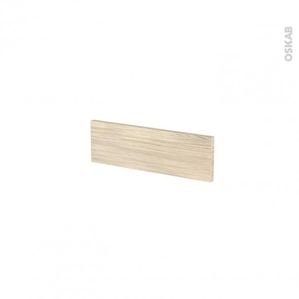 Façades de cuisine - Face tiroir N°1 - STILO Noyer Blanchi - L40 x H13 cm