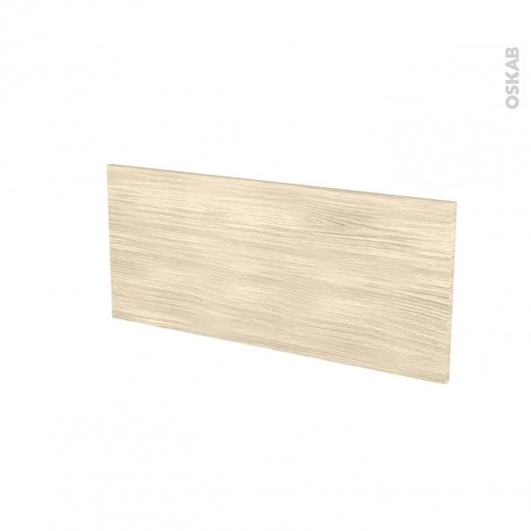 Façades de cuisine - Face tiroir N°11 - STILO Noyer Blanchi - L80 x H35 cm