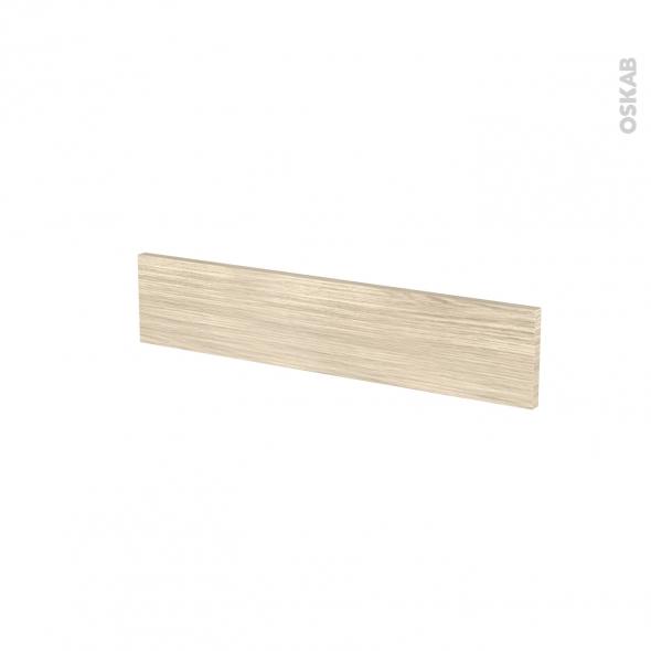 Façades de cuisine - Face tiroir N°3 - STILO Noyer Blanchi - L60 x H13 cm