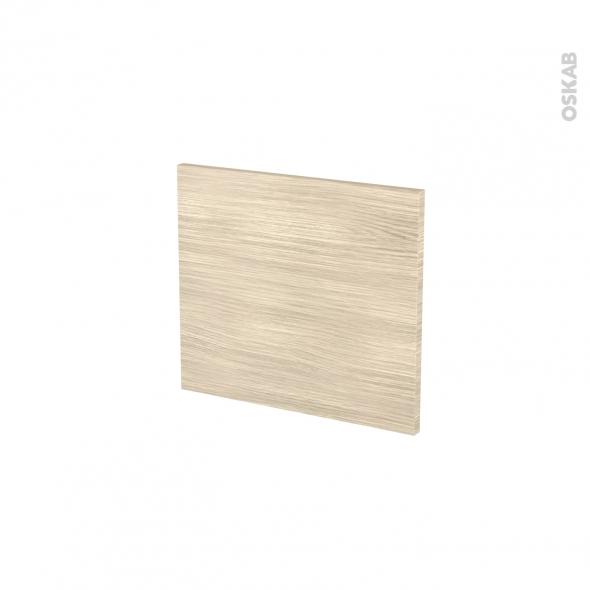 Façades de cuisine - Face tiroir N°9 - STILO Noyer Blanchi - L40 x H35 cm