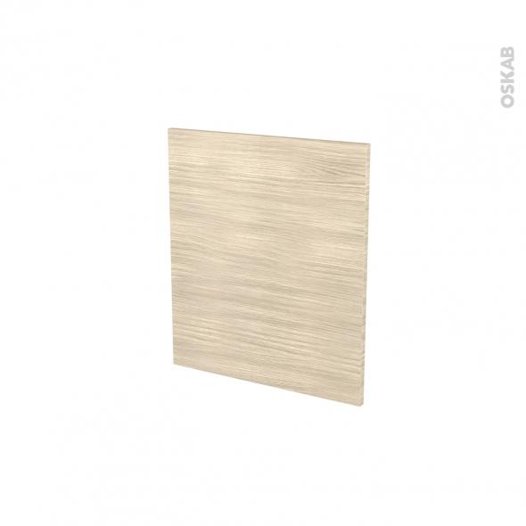 Façades de cuisine - Porte N°15 - STILO Noyer Blanchi - L50 x H57 cm