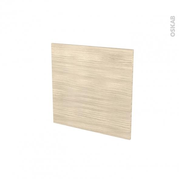 Porte lave vaiselle - Intégrable N°16 - STILO Noyer Blanchi - L60 x H57 cm