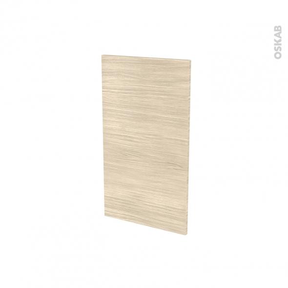 Façades de cuisine - Porte N°19 - STILO Noyer Blanchi - L40 x H70 cm