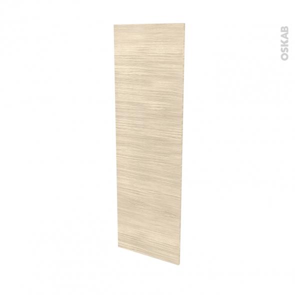 Façades de cuisine - Porte N°26 - STILO Noyer Blanchi - L40 x H125 cm