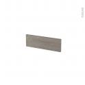Façades de cuisine - Face tiroir N°1 - STILO Noyer Naturel - L40 x H13 cm