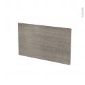 Façades de cuisine - Face tiroir N°10 - STILO Noyer Naturel - L60 x H35 cm