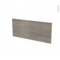 Façades de cuisine - Face tiroir N°11 - STILO Noyer Naturel - L80 x H35 cm