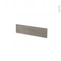 Façades de cuisine - Face tiroir N°2 - STILO Noyer Naturel - L50 x H13 cm