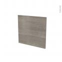 Façades de cuisine - Porte N°16 - STILO Noyer Naturel - L60 x H57 cm