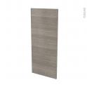 Façades de cuisine - Porte N°23 - STILO Noyer Naturel - L40 x H92 cm