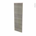 Façades de cuisine - Porte N°26 - STILO Noyer Naturel - L40 x H125 cm