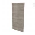 Façades de cuisine - Porte N°27 - STILO Noyer Naturel - L60 x H125 cm