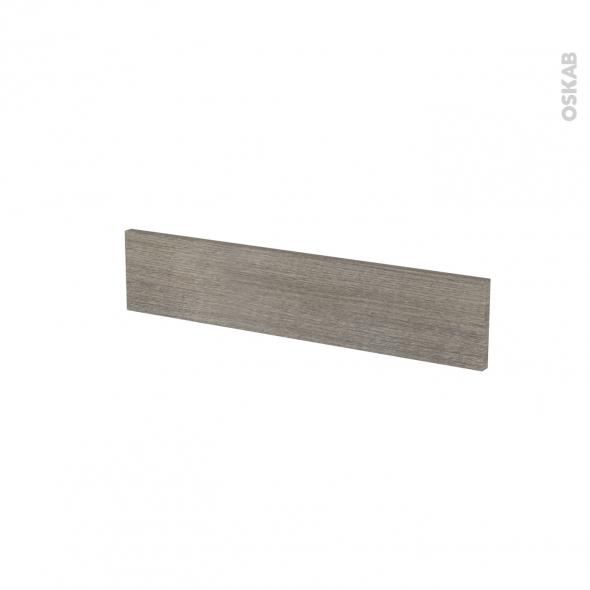 Façades de cuisine - Face tiroir N°3 - STILO Noyer Naturel - L60 x H13 cm