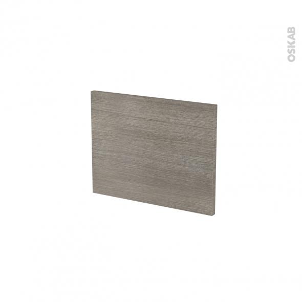 Façades de cuisine - Face tiroir N°6 - STILO Noyer Naturel - L40 x H31 cm