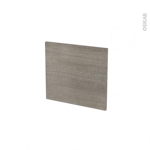 Façades de cuisine - Face tiroir N°9 - STILO Noyer Naturel - L40 x H35 cm