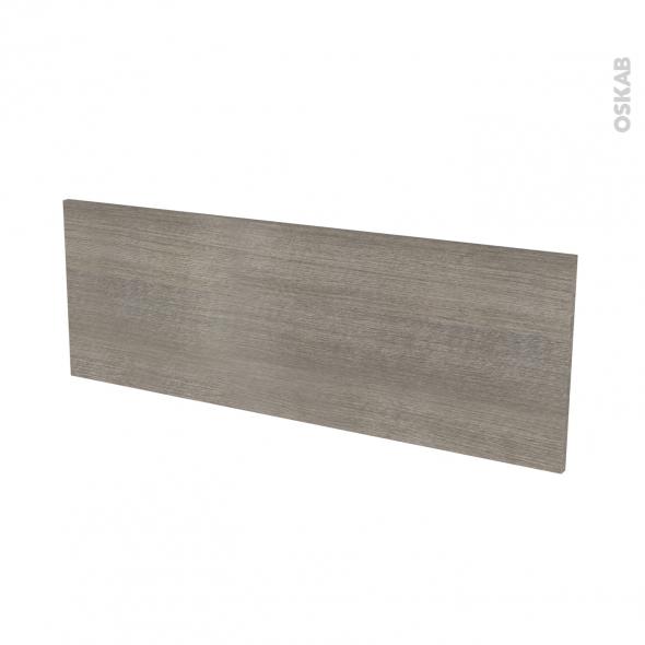 Façades de cuisine - Porte N°12 - STILO Noyer Naturel - L100 x H35 cm
