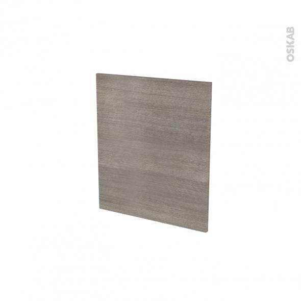 Façades de cuisine - Porte N°15 - STILO Noyer Naturel - L50 x H57 cm