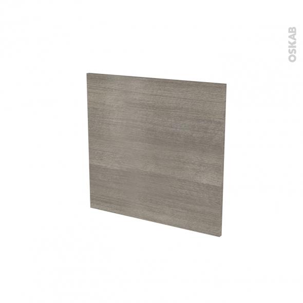 STILO Noyer naturel - Porte N°16 - Lave vaisselle intégrable - L60xH57