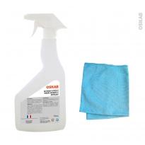 HAKEO - Spray anti-buée - Avec microfibre