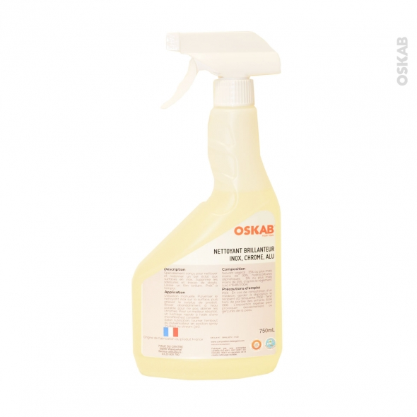 SOKLEO - Nettoyant - Inox / Alu / Chromé