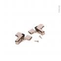 HAKEO - Système frein - pour charnières 110° - Lot de 2