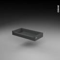 SOKLEO - Tiroir à l'anglaise - faible profondeur/freiné - L60xH8xP27