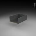 Tiroir casserolier - pour meuble de cuisine - Freiné/sortie totale - L40 x H18 x P50 cm - SOKLEO