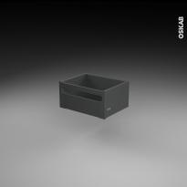 Casserolier à l'anglaise - pour meuble de cuisine - Freiné/faible profondeur - L40 x H18 x P27 cm - SOKLEO
