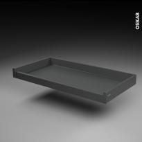 SOKLEO - Tiroir à l'anglaise profond - sortie totale/freiné - L100xH8xP50