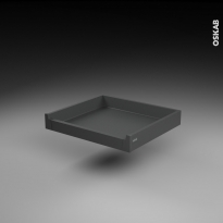 SOKLEO - Tiroir à l'anglaise profond - sortie totale/freiné - L60xH8xP50