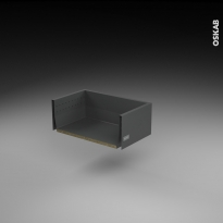 SOKLEO - Tiroir casserolier - faible profondeur/freiné - L50xH17xP27