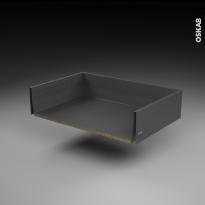 SOKLEO - Tiroir casserolier profond - sortie totale/freiné - L80xH17xP50