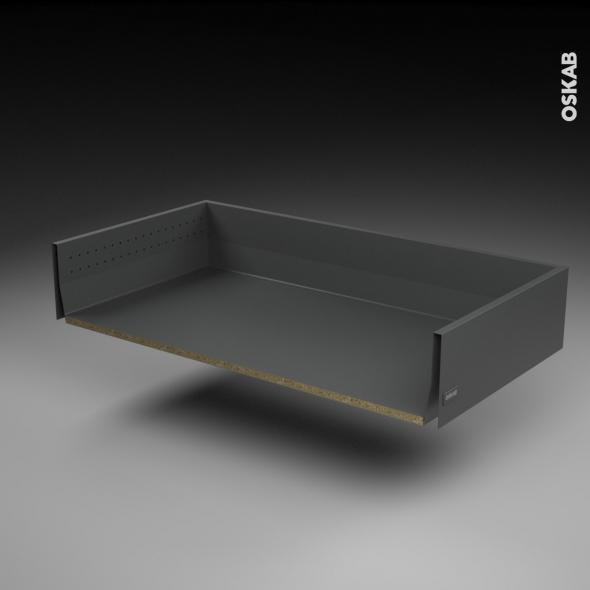 SOKLEO - Tiroir casserolier profond - sortie totale/freiné - L100xH17xP50