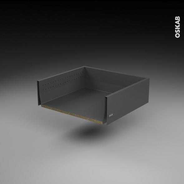 Tiroir casserolier - pour meuble de cuisine - Freiné/sortie totale - L60 x H17 x P50 cm - SOKLEO