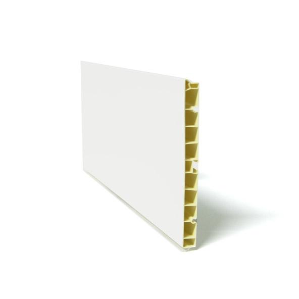 plinthe de cuisine pvc blanc brillant l200 x h15 cm sokleo. Black Bedroom Furniture Sets. Home Design Ideas
