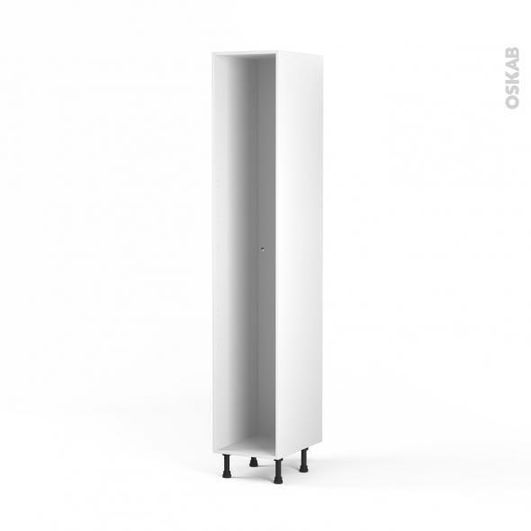 Caisson colonne n 30 armoire de cuisine l40 x h217 x p56 cm sokleo oskab - Colonne cuisine 30 cm ...