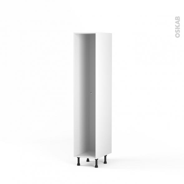 caisson colonne n 27 armoire de cuisine l40 x h195 x p56 cm sokleo oskab. Black Bedroom Furniture Sets. Home Design Ideas