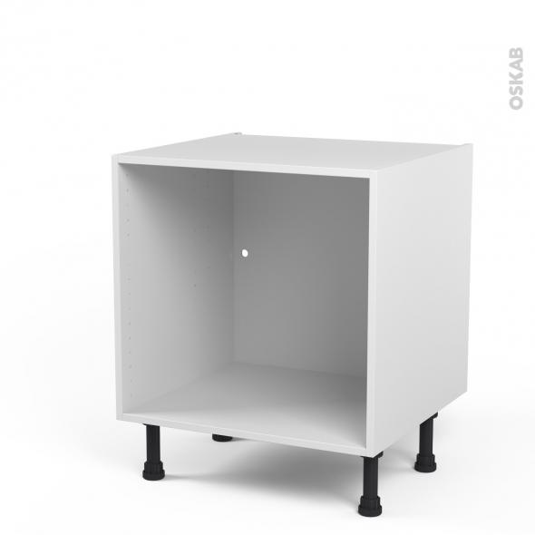 Caisson bas n 2 meuble de cuisine l60 x h57 x p56 cm - Caisson cuisine bas 60 cm ...