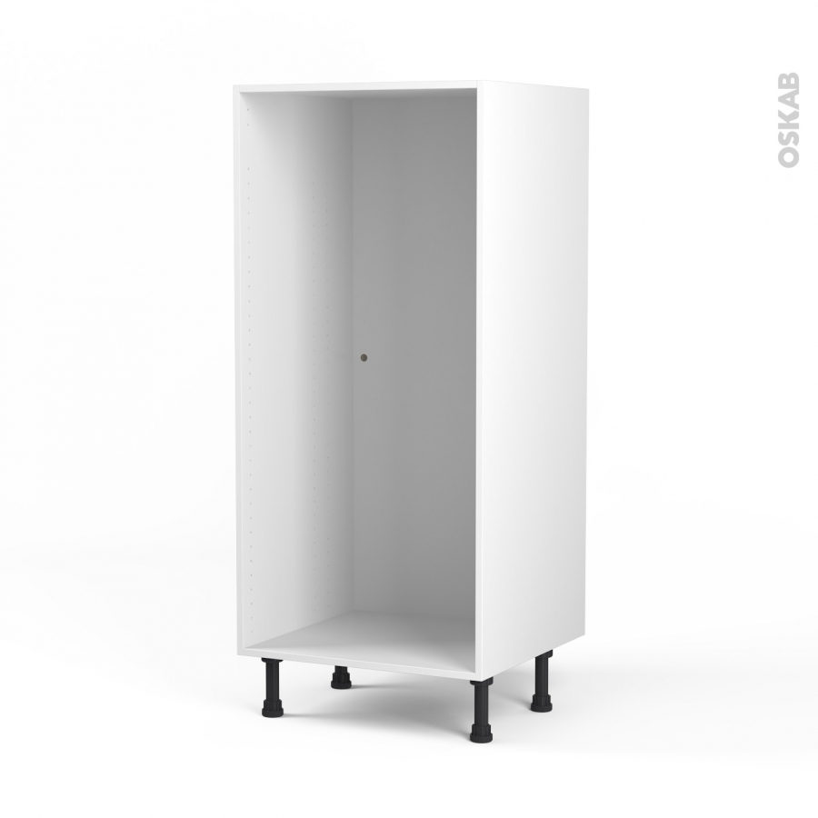 Caisson colonne n 25 armoire de cuisine l60 x h125 x p56 cm sokleo oskab - Caisson cuisine 20 cm ...