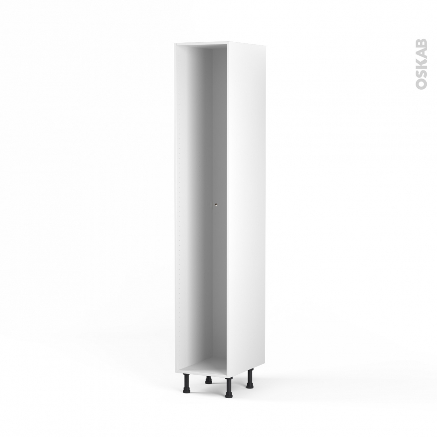Caisson colonne n 30 armoire de cuisine l40 x h217 x p56 cm sokleo oskab - Caisson cuisine 20 cm ...