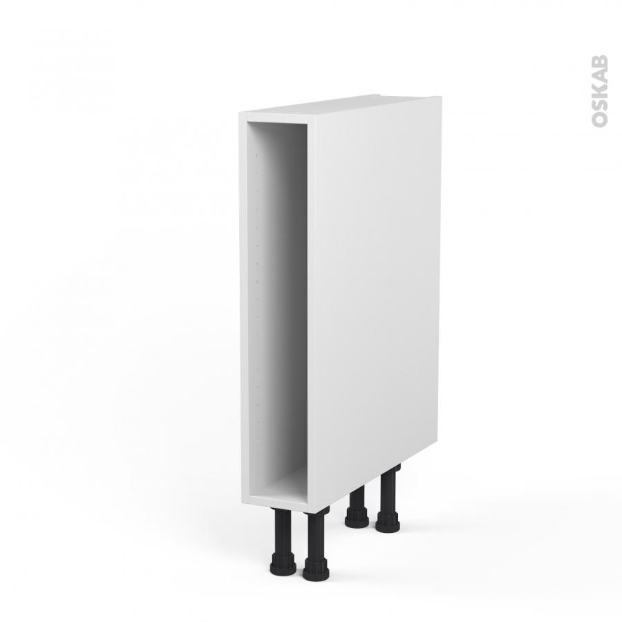 caisson bas n 3 meuble de cuisine l15 x h70 x p56 cm sokleo oskab. Black Bedroom Furniture Sets. Home Design Ideas