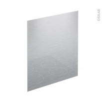 Cr dence de cuisine en verre alu bois b ton granit oskab for Fond de hotte verre inox
