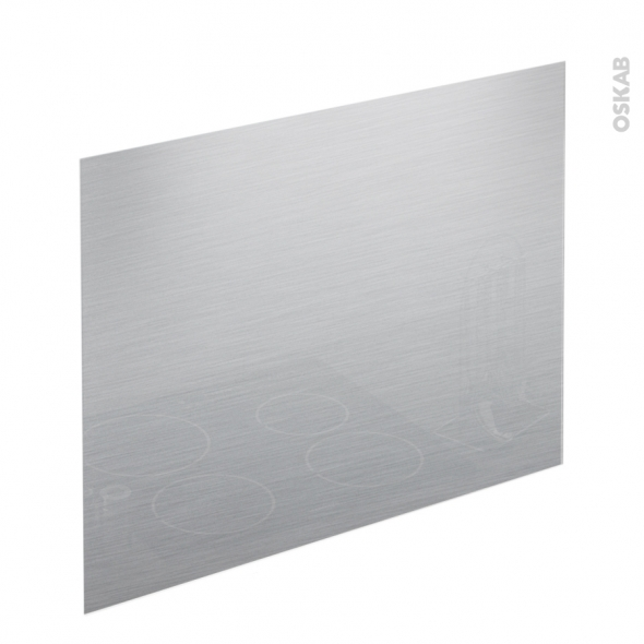 fond de hotte verre gris l90xh65xe0 4 planeko oskab. Black Bedroom Furniture Sets. Home Design Ideas