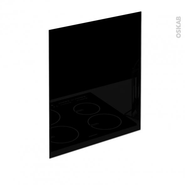 fond de hotte verre noir l60xh65xe0 4 planeko oskab. Black Bedroom Furniture Sets. Home Design Ideas