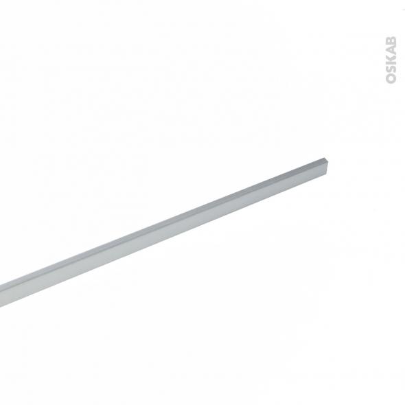 Profil finition alu brut cr dence 1m planeko oskab - Profil de finition alu pour plan de travail ...
