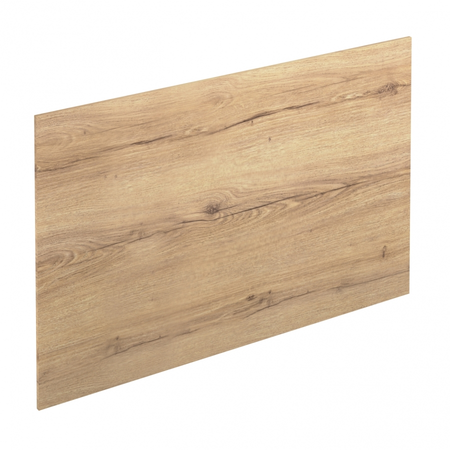 Cr dence de cuisine n 214 d cor ch ne blond stratifi l300 for Plaque decorative credence