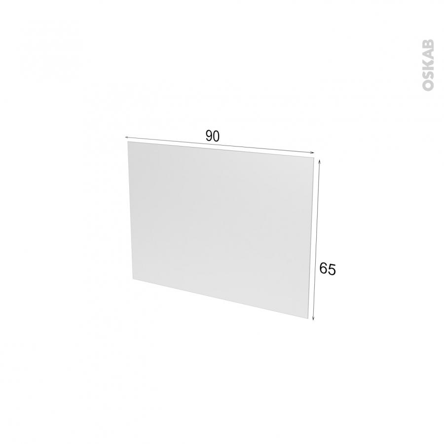 fond de hotte verre blanc l90xh65xe0 4 planeko oskab. Black Bedroom Furniture Sets. Home Design Ideas