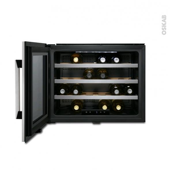 cave vin encastrable 45cm de service inox electrolux. Black Bedroom Furniture Sets. Home Design Ideas
